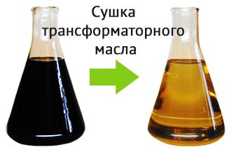 Регенерация сушка очистка трансформаторного масла