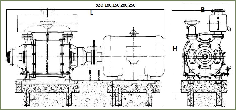 Чертеж насосного агрегата szo Sigma zavadka